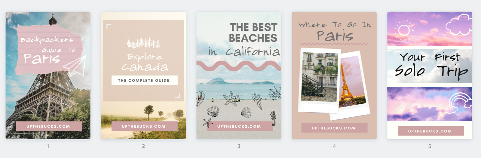 Travel Pinterest Pins For Bloggers and Brands