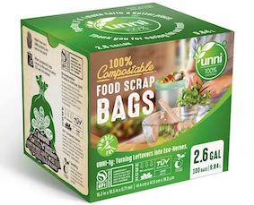 UNNI biodegradable garbage bags