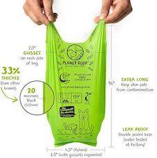Planet poop dog poop bags