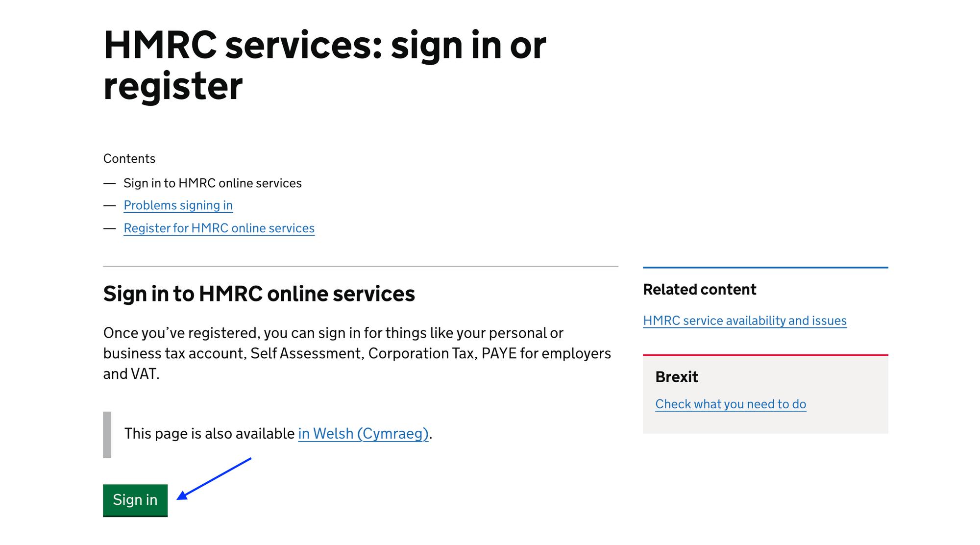 HMRC's Online Portal
